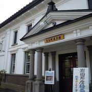 結構最近まで銀行だった・・ゴシック洋式の建築物「百石町展示館」~弘前~