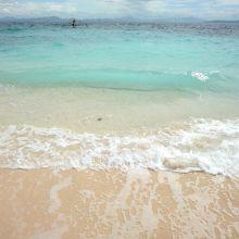 マニラから日帰りでコバルトブルーの海