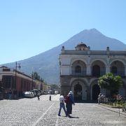 中米のにおいが沢山詰まっている街
