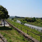 宍道湖が見えます