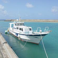 水納島 チャーター船しらはま