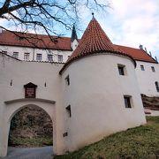 フュッセンにある騙し絵のあるお城