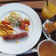リーズナブルに朝食を