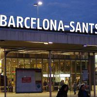 バルセロナ サンツ駅