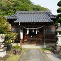 写真:山家公頼の邸宅跡