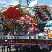 日本でもBEST3に入るおすすめの祭り。8月6日、7日の2日間観覧がおすすめ。