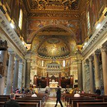 サンタ マリア イン トラステヴェレ教会