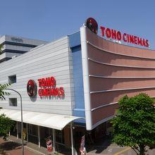 映画館のTOHOシネマズ