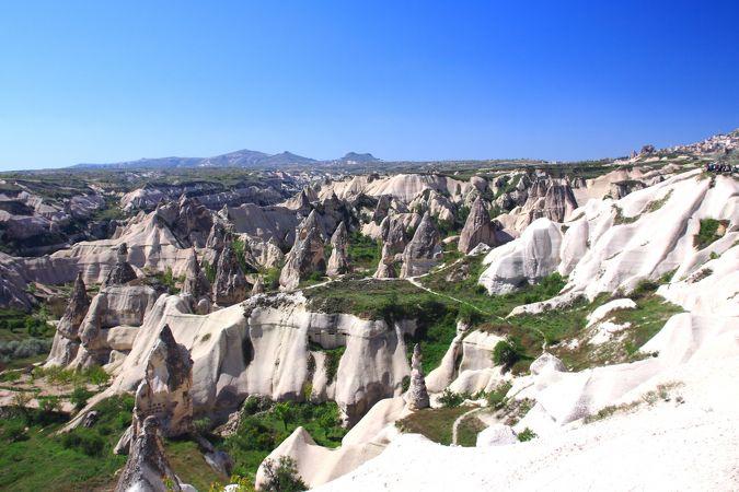 ギョレメ国立公園とカッパドキアの岩窟群