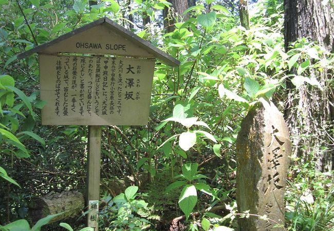 大澤坂石畳