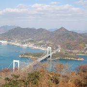 カレイ山:伯方・大島大橋の景色を堪能
