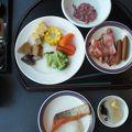 朝食はさすが北海道。
