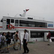竹生島に行く船に乗れます♪