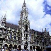 ミュンヘン観光の中心となる広場