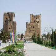 ウズベキスタンの田舎町☆ティムールさんの故郷