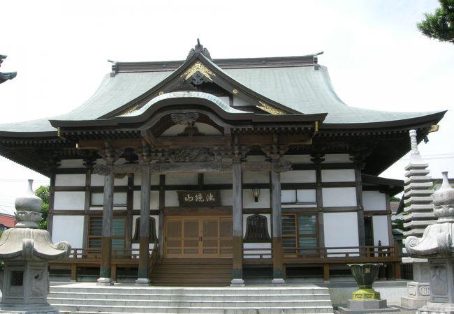 中原街道沿いにあるお寺さん