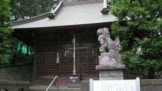 中々に立派な神社