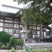 桃山時代創建のお寺さん