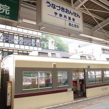 富山地鉄の終点/始発駅