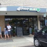 ハワイカイのお洒落なカフェ