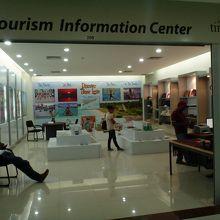 2階の観光案内所