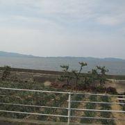 説明がなければ宍道湖と思いました