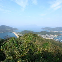 城山展望台からの眺望