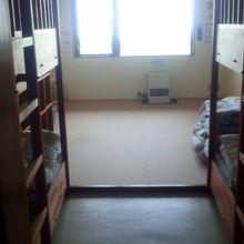 宿泊施設の部屋です
