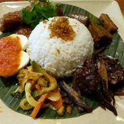 テイスト オブ シンガポールの昼食