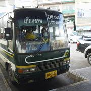 チェンライのバス