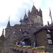 コッヘム観光の目玉、ライヒスブルク城