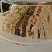 Freshly Cut Sandwiches