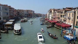 レアルト橋からの大運河