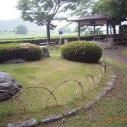 福島城の庭園のなごりです。