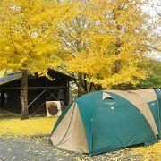 清水の公営キャンプ場