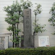 城岡神社境内に石碑が残るのみです