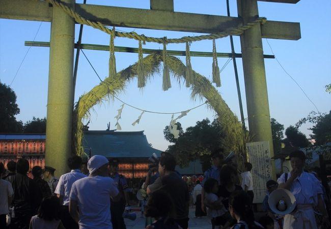 大阪三大夏祭のひとつ いくたま夏祭り