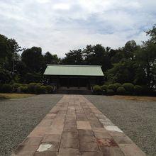 神奈川県戦没者慰霊堂