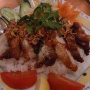 銀座のおしゃれなベトナム料理屋さん。