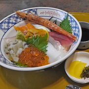 まあ普通の和食レストランだが海鮮丼は美味しかった