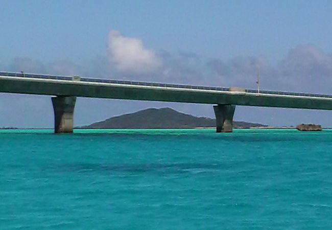 池間大橋と大神島