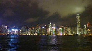 香港の夜景を楽しもう!