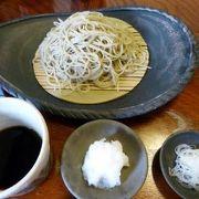 酒蕎麦(しゅばく)の昼食