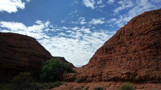キングスキャニオンは登り易い絶景!