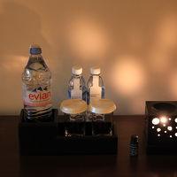 アロマと無料の水(小瓶2本)