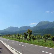 1,700m級の山々