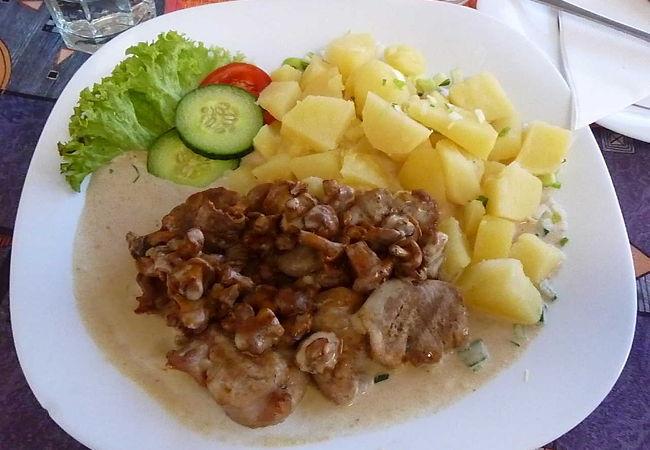 くせのないチェコ料理