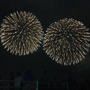栃木県の花火大会だと1番キレイだと思う。