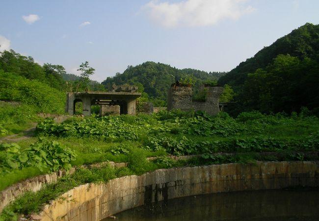 旧幌内炭鉱布引立坑風洞トンネル