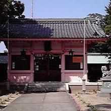 ピンクの本殿